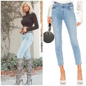 GRLFRND KAROLINA Jeans On The Run High Waist Denim